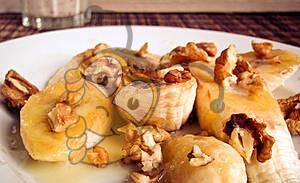 Жареные бананы с медом