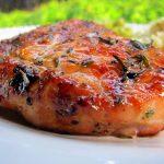 Куриное филе в медовом маринаде