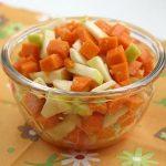 Яблочно-тыквенный салат с медом по-чувашски