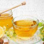 Лимонный чай с мёдом