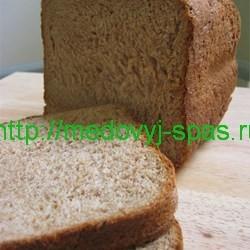 Цельнозерновой хлеб с медом