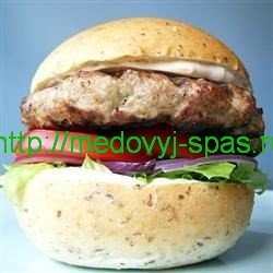 Пшеничный сэндвич-ролл с мёдом