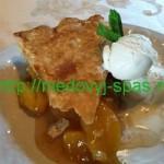 Персиковый Пирог с мёдом