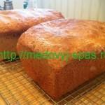 Пшеничный хлеб с мёдом