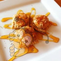 Сливочный козий сыр с мёдом
