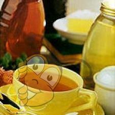 Медовый сироп с лимоном