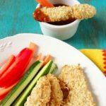 Куриные палочки с медово – кисло-сладким соусом
