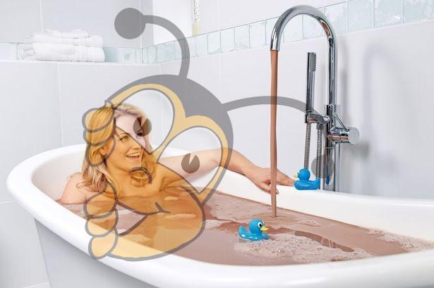 Шоколадное молочко для ванны