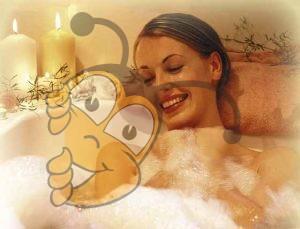 Ванильно-медовая ванна с пеной