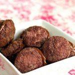 Медовое орехово-шоколадное печенье