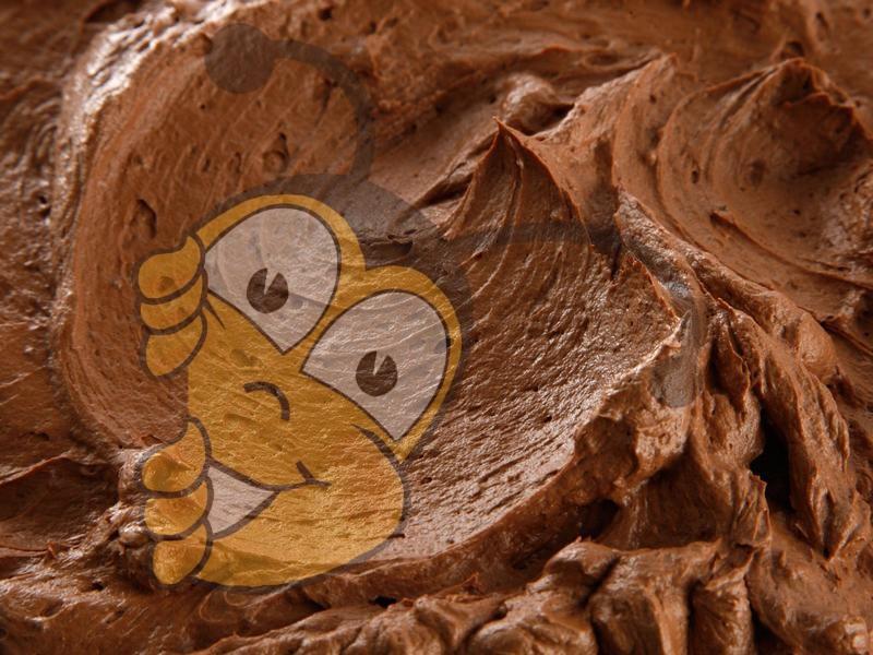 Горько-сладкая шоколадная глазурь