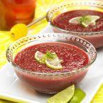 Холодный вишневый суп