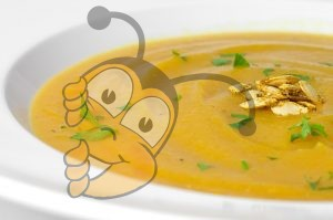Суп из измельченных орехов