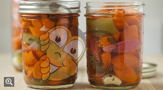 Пряная маринованная морковь