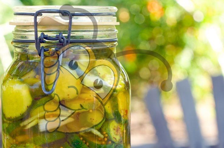 Соленые огурцы с мёдом