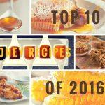 Топ 10 самых популярных рецептов с мёдом 2016 года