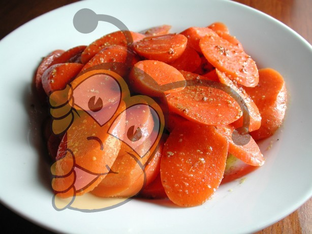 Винегрет с тмином, пряной медовой морковью с лимоном и кориандром