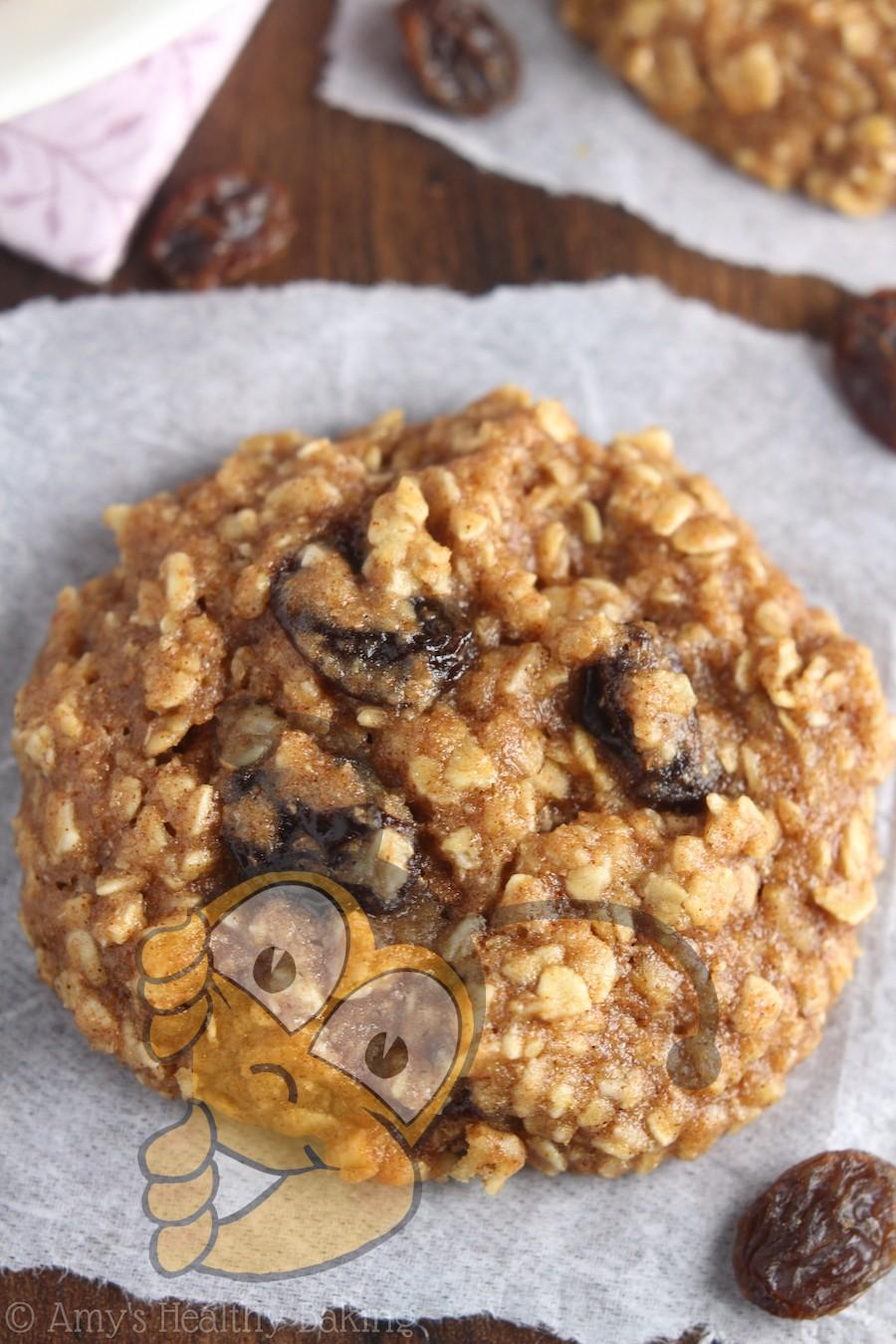 Жевательное овсяное печенье с медом