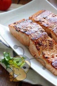 Запеченная рыба филе в медом-лимонном масле
