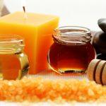 Фрукты с горчицей и медом