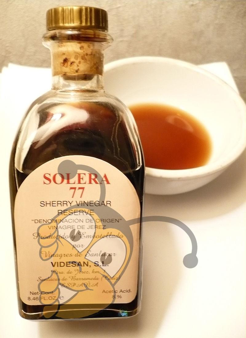 sherry vinegar (хересный уксус)