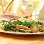 Вегетарианское блюдо с дижонской заправкой